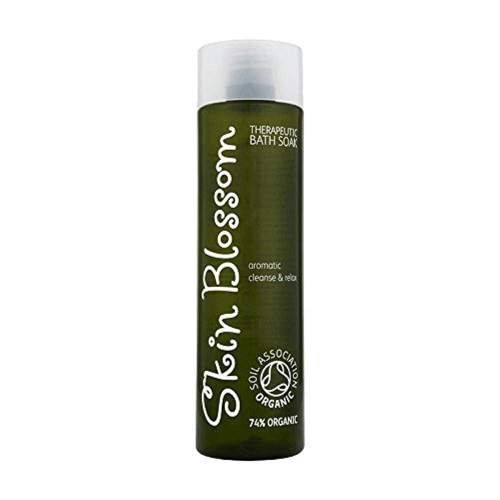 電圧連鎖学期Skin Blossom Therapeutic Bath Soak 300ml (Pack of 2) - 治療浴は300ミリリットルソーク皮膚の花 (x2) [並行輸入品]