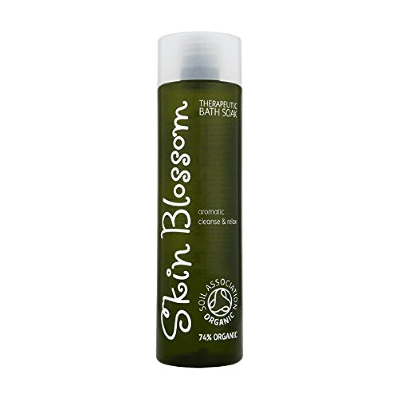 余韻夫婦櫛Skin Blossom Therapeutic Bath Soak 300ml (Pack of 6) - 治療浴は300ミリリットルソーク皮膚の花 (x6) [並行輸入品]