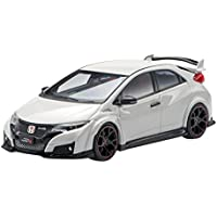 エブロ 1/43 Honda CIVIC TYPE R 2015 (Japanese License Plate) Championship White 完成品