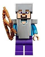 輸入レゴマインクラフト Lego Minecraft Steve with Iron Armor & Bow/05P26Mar16 [並行輸入品]