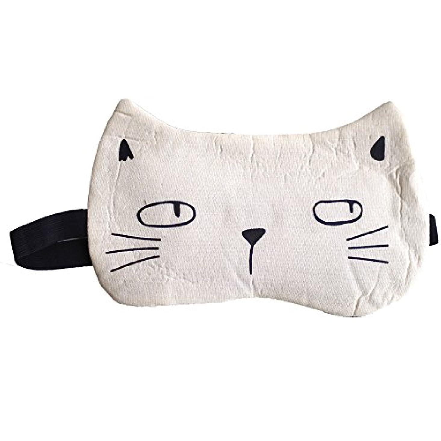 人工的なスポーツマン代数クールアイマスク ねこ アイマスク 猫 (C type)