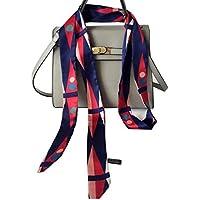 1PCS 200cm/2.18 Yards Women Lady Girl Skinny Thin Chiffon Long Tie Scarf -Silk Scarves Bag Band Belt Neckerchief for All Season