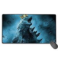3d-Godzilla ソードアート・オンライン Sword Art Online マウスパッド 多用途の Mouse Pad 大型 Fpsゲーム コンピューター 低反発 ゲーム専用 A2 キーボード用 75X40X0.3Cm