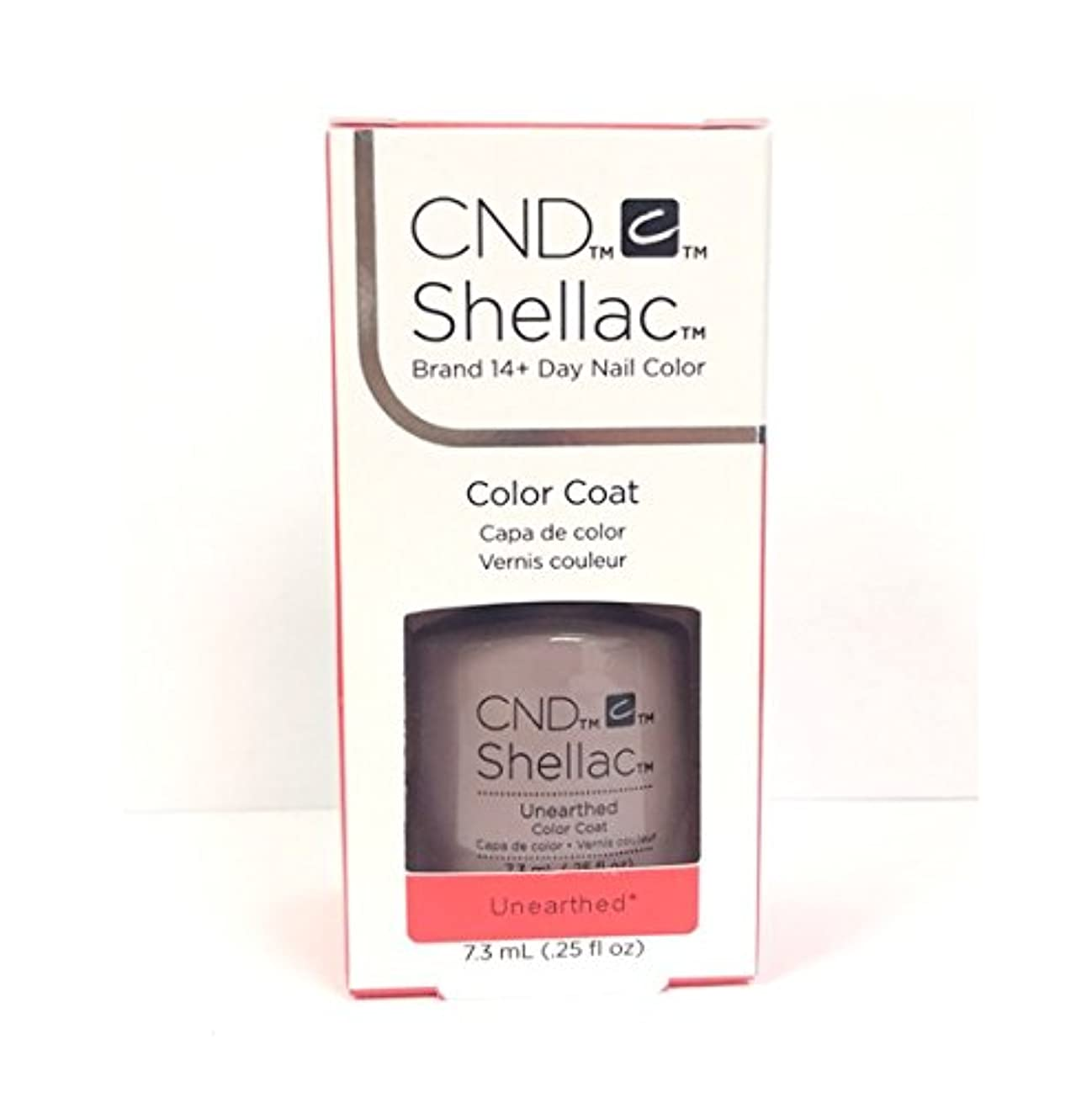 作り上げる飛行場ヨーグルトCND Shellac - The Nude Collection 2017 - Unearthed - 7.3 mL / 0.25 oz