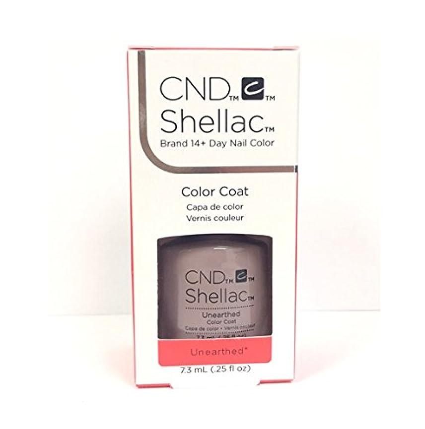 ごめんなさいフィールド置くためにパックCND Shellac - The Nude Collection 2017 - Unearthed - 7.3 mL / 0.25 oz
