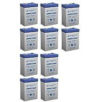Powersonic 6V 4.5AHバッテリー交換 Sunslinger デジタルフィーダーキット - 10パック