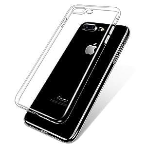 WOVTE iPhone7 Plus 透明ケース TPUソフトケース 超薄 超軽量 保護カバー クリア