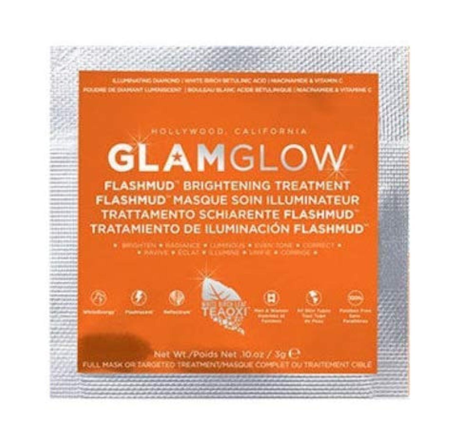 バイオリニスト同様の緊急【サンプルサイズ】グラムグロウ (GLAMGLOW) FLASHMUD 3g (1回分) [並行輸入品]