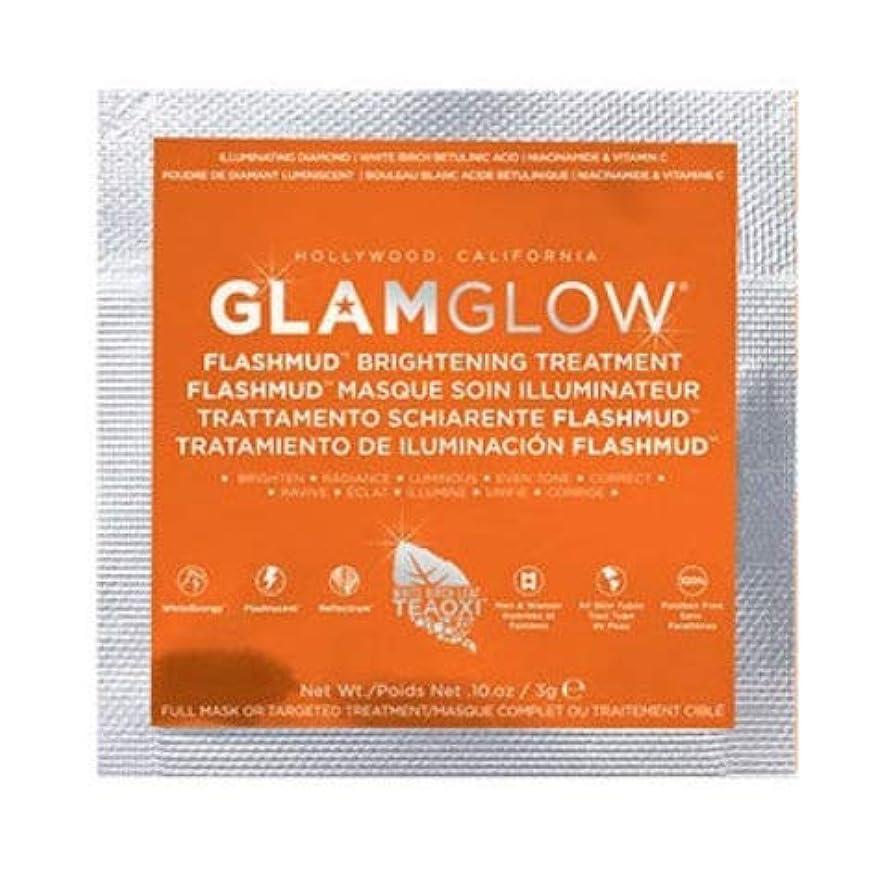 一口強打日【サンプルサイズ】グラムグロウ (GLAMGLOW) FLASHMUD 3g (1回分) [並行輸入品]