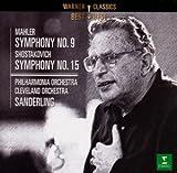 マーラー:交響曲第9番/ショスタコーヴィチ:交響曲第15番