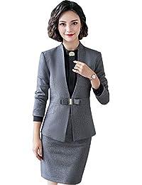 ebe3e5b5b52de Amazon.co.jp  スーツ - レディース  服&ファッション小物  セット ...