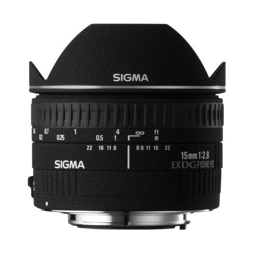 SIGMA 単焦点魚眼レンズ 15mm F2.8 EX DG DIAGONAL FISHEYE キヤノン用 対角線魚眼 フルサイズ対応 476403