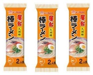 マルタイ 屋台九州味棒ラーメン 濃厚とんこつ味 2食×3パック