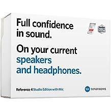 Sonarworks Reference 4 Studio edition with mic【スピーカー測定ソフトウェア + キャリブレーションプラグイン + 測定用マイクロフォン】