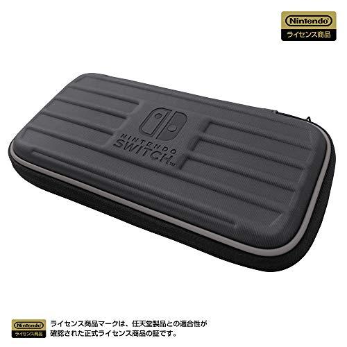 【任天堂ライセンス商品】タフポーチ for Nintendo Switch Lite ブラック✕グレー 【Nintendo Switch Lite対...