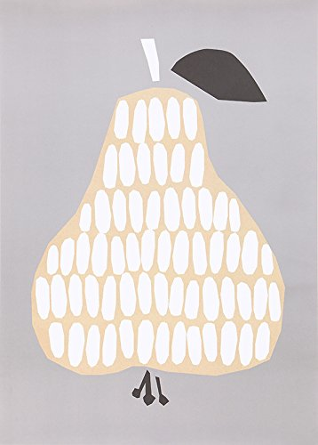 RoomClip商品情報 - DARLING CLEMENTINE(ダーリン・クレメンタイン) Pear 洋なし ポスター 50×70cm ポスター おしゃれ 北欧 ポスター モノクロ ポスター 北欧