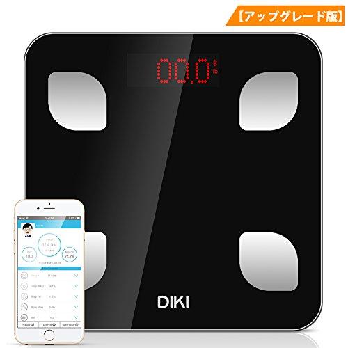 体脂肪計, DIKI 体重計 bluetooth体組成計 体重...