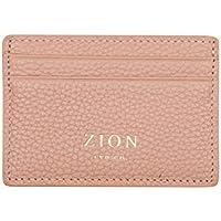Slim Card Case Wallet Genuine Leather Minimalist Wallet - RFID Blocking Card Holder Womens Wallet