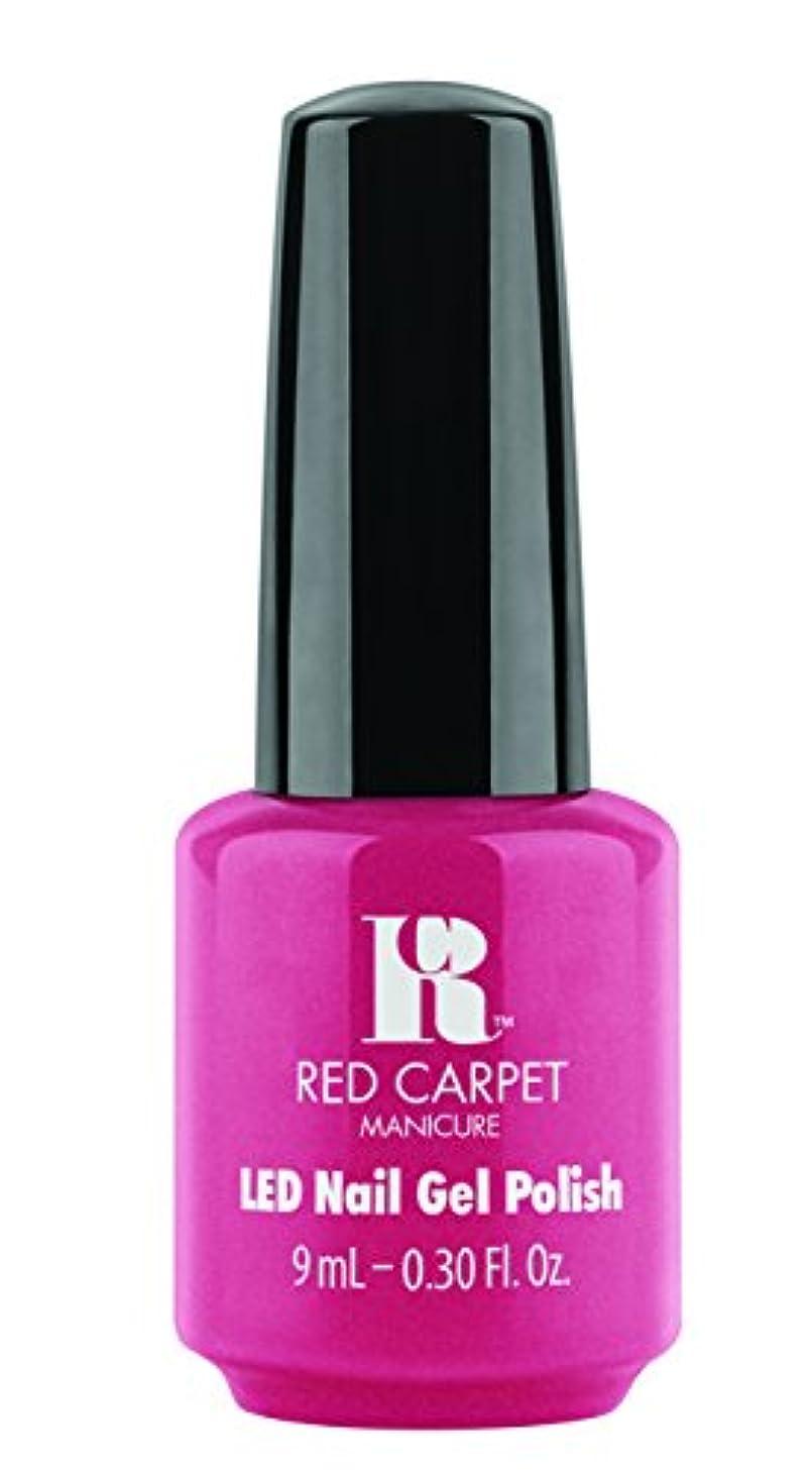 赤面流ポーチRed Carpet Manicure - LED Nail Gel Polish - Socialite Status - 0.3oz/9ml