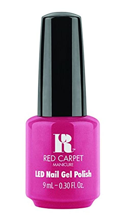 コーヒー何でもコンサートRed Carpet Manicure - LED Nail Gel Polish - Socialite Status - 0.3oz/9ml