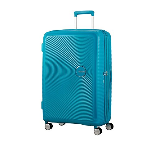 [アメリカンツーリスター] スーツケース SOUND BOX サウンドボックス スピナー77cm 無料預入受託サイズ エキスパンダブル機能  保証付 97L 77cm 4.2kg 32G*01003 01 サマーブルー