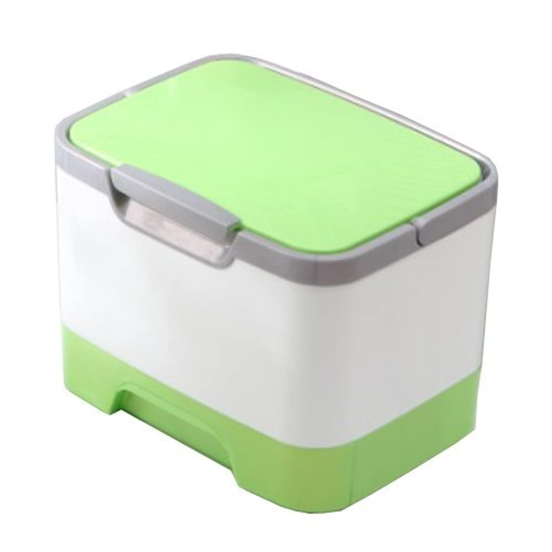 者キルスハプニングメイクボックス 大容量 かわいい 鏡付き プロも納得 コスメの収納に (ピンク、ブルー、グリーン)
