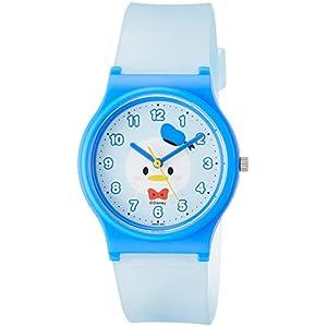 [シチズン キューアンドキュー]CITIZEN Q&Q 腕時計 ディズニー コレクション TSUMTSUM ドナルドダック ウレタンベルト ブルー HW00-003 ガールズ