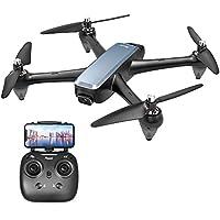 Potensic ドローン GPS搭載 高耐久ブラシレスモーター 光流定位 1080P HDカメラ付き 5.0GHz WIFIリアタイム 高度・座標ホバリング フォローミー・オートリターン機能 ヘッドレスモード 操作距離500M 生中継距離400M 指定線路飛行可能 国内認証済み D60