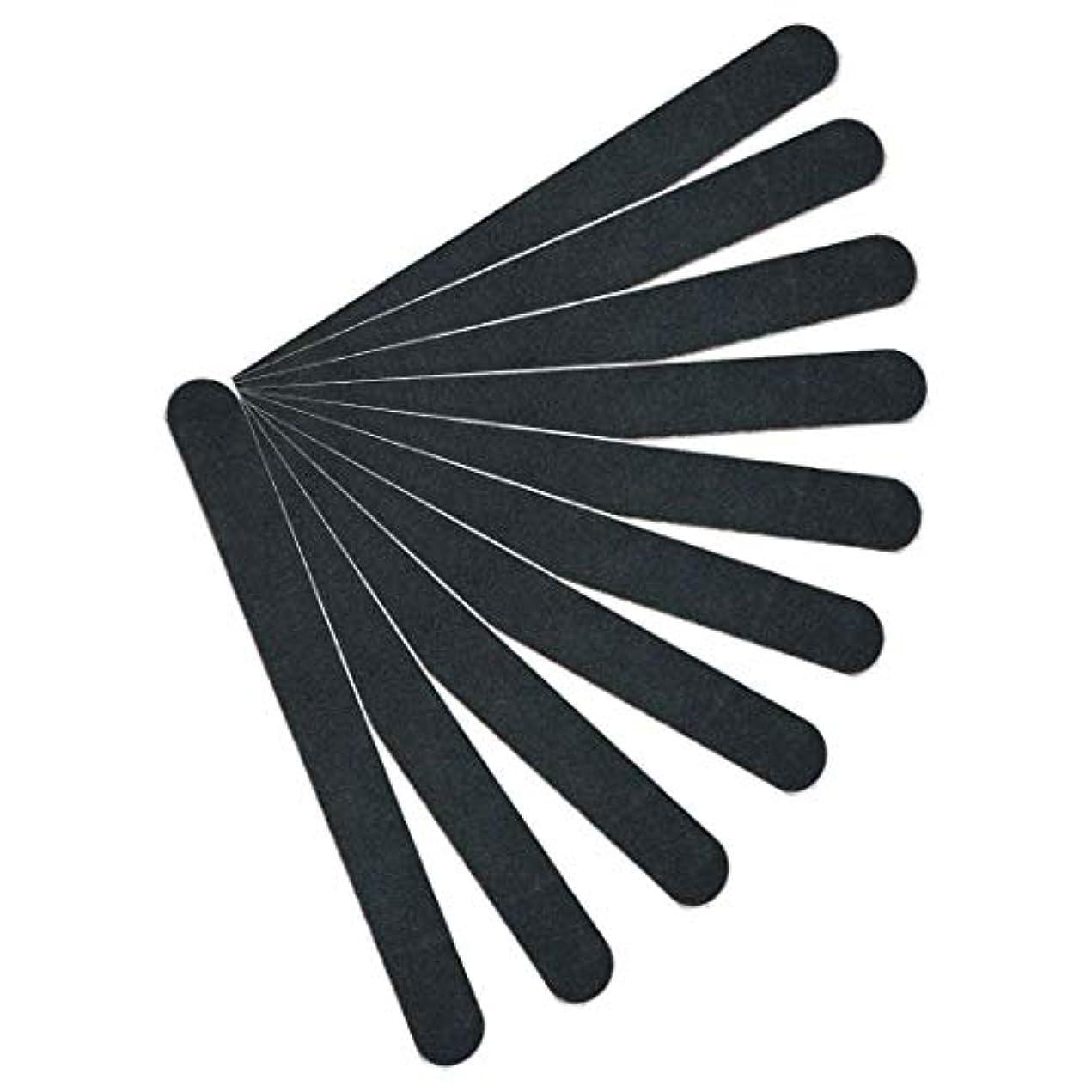 立証するホールドオールポスト印象派【kimari】(10本セット)kmr-001ブラックネイルファイル エメリーボード 100/180グリット 爪けずり ネイルやすり