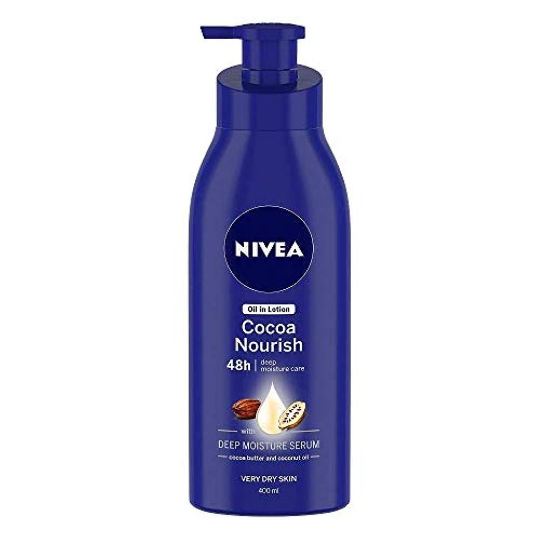 歯科医名義で品揃えNivea Oil in Lotion Cocoa Nourish, 400ml