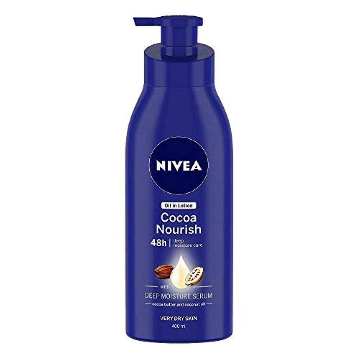 Nivea Oil in Lotion Cocoa Nourish, 400ml