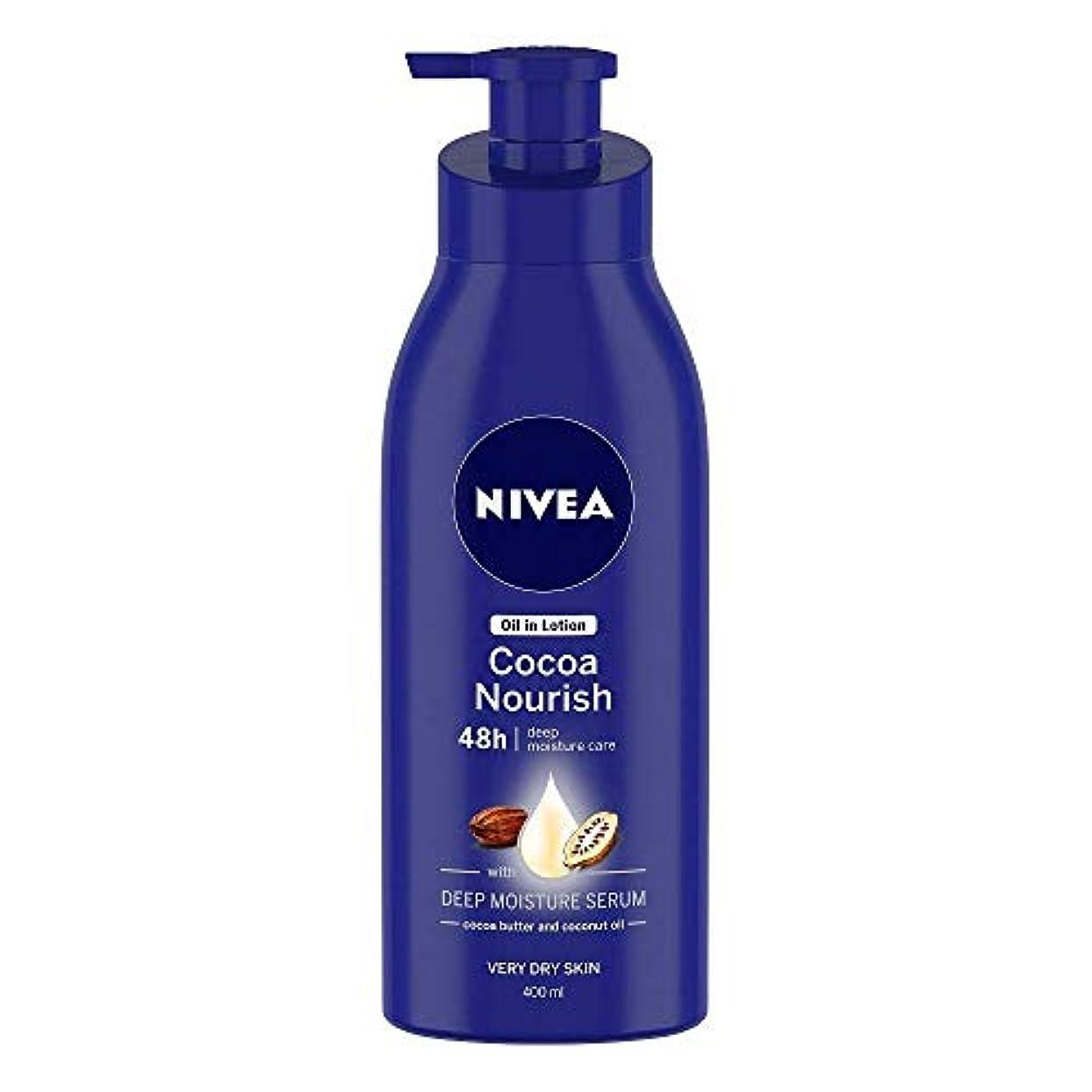 数値に対応するコークスNivea Oil in Lotion Cocoa Nourish, 400ml