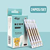 Qiyun 24pcs/lot Medical Disposable Emergency Cotton Stick Iodine Swab Disinfected Swab for Children Adults
