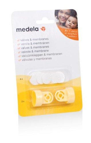 Medela メデラ 交換用搾乳弁キット 搾乳器を快適にご使用頂くための交換用パーツ (008.0293)