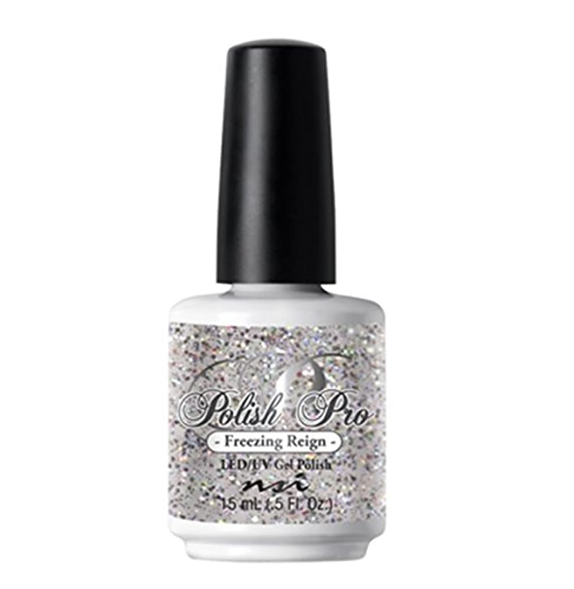 放棄するアクセス迷信NSI Polish Pro Gel Polish - The Ice Queen Collection - Freezing Reign - 15 ml/0.5 oz