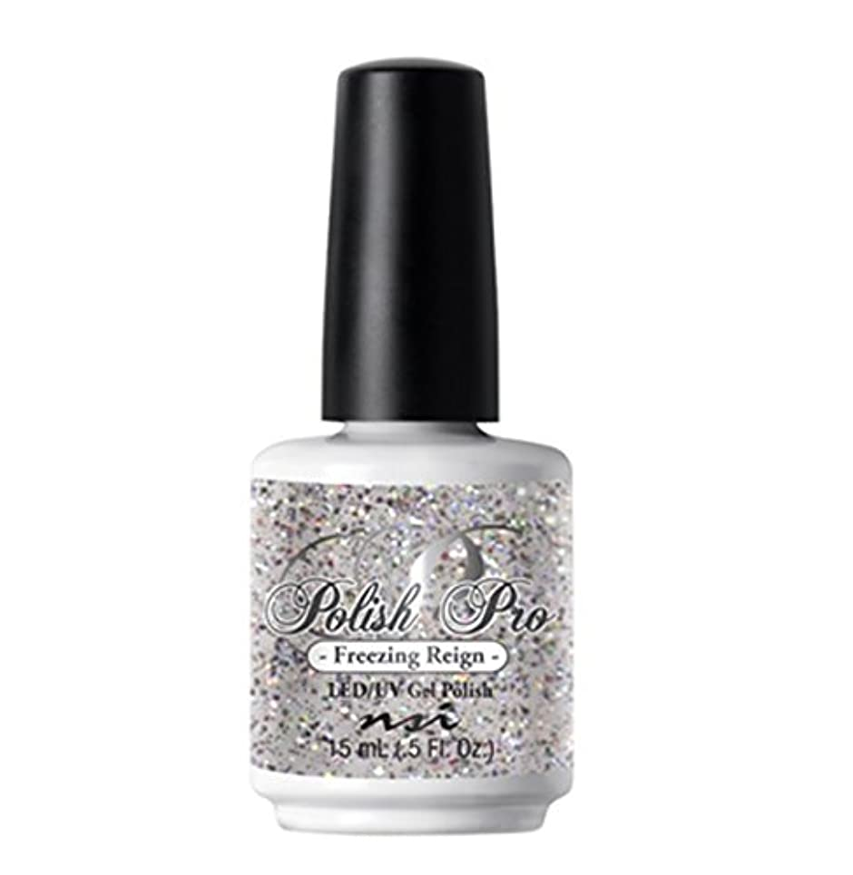 バリア欺く慣習NSI Polish Pro Gel Polish - The Ice Queen Collection - Freezing Reign - 15 ml/0.5 oz