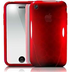 【正規品】 iSkin ソフトケース solo FX for iPhone 3G/3GS Red SOVB3G-RD