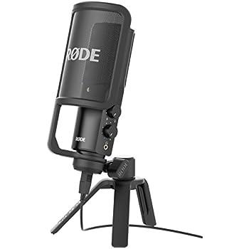【国内正規品】RODE ロード NT-USB USB接続型スタジオマイクロフォンNTUSB