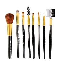 Akane 8本 MAANGE 高級 魅力 厳選した 超柔らかい 簡単使い 上等な使用感 たっぷり 綺麗 Makeup Brush 優雅 多機能 日常 仕事 おしゃれ 激安 メイクアップブラシ(9色)