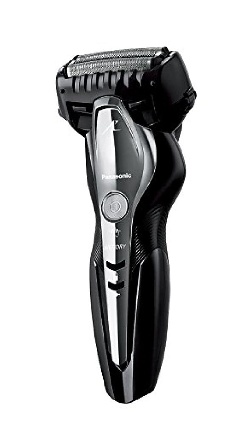 受け入れた実質的シャッターパナソニック ラムダッシュ メンズシェーバー 3枚刃 お風呂剃り可 黒 ES-ST2N-K