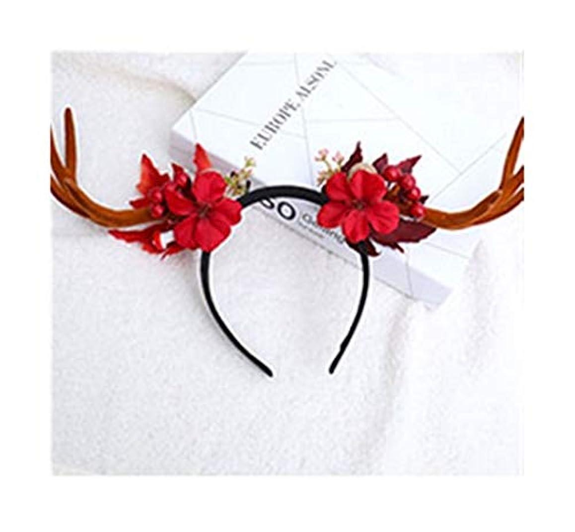 流体クーポンカロリークリスマスティアラヘアピンヘアアクセサリー大人の森??の枝角はバックル創造ドレスの小道具用品を頭飾り子供 (スタイル : C)