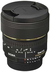 SIGMA 単焦点魚眼レンズ 15mm F2.8 EX DG DIAGONAL FISHEYE ニコン用 対角線魚眼 フルサイズ対応 476441