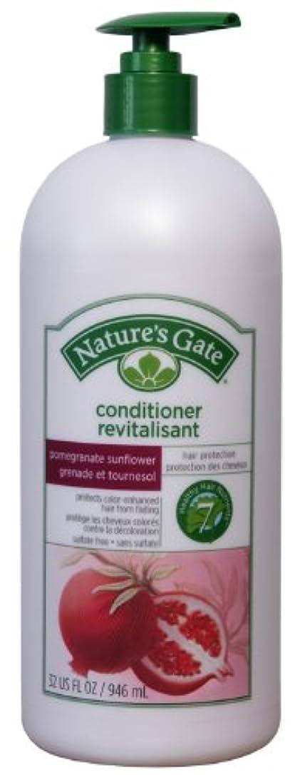 リファインイデオロギースリップ946ml Nature's Gate(ネイチャーズゲート)コンディショナー ザクロ&サンフラワー【カラーリングした髪のケアに】