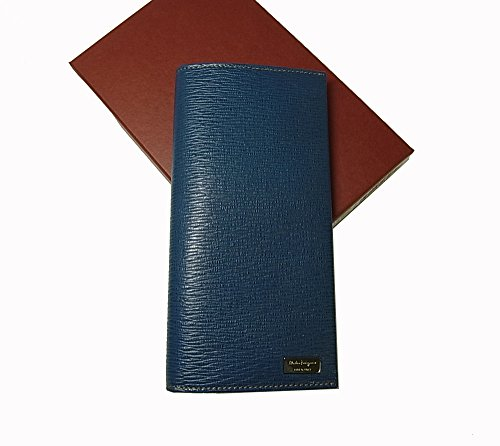 (フェラガモ)Salvatore Ferragamo 長財布 メンズ ペブルカーフ (ブルー) 667073 SF-1911F [並行輸入品]