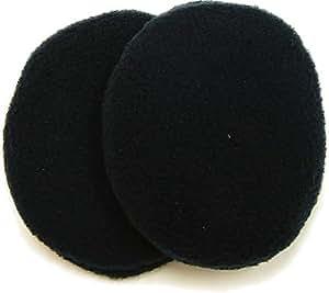 イヤーラックス 防寒耳カバー フリース ブラック S-M