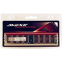 Avexir avd1u04000301g-1b予算1GB 1024MB 184- pin pc3200DDR 400MHZ DIMMデスクトップメモリモジュール3–3- 3–8