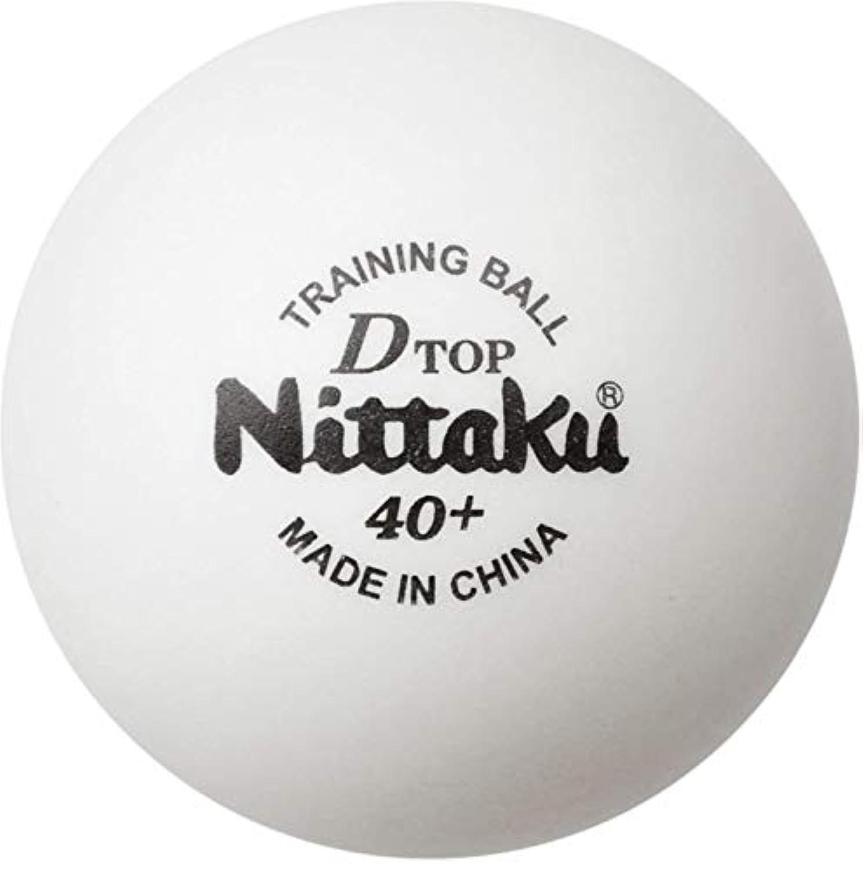 ニッタク(Nittaku) 卓球 ボール 練習用 Dトップ トレ球