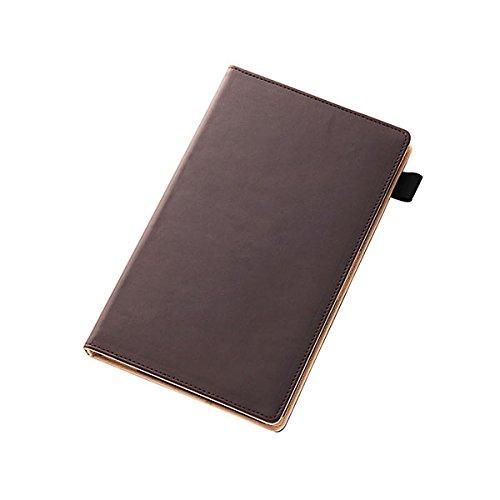 レイ・アウト Xperia Z3 Tablet Compact フラップ・レザーケース(合皮) ダークブラウン RT-Z3TCLC1/DK