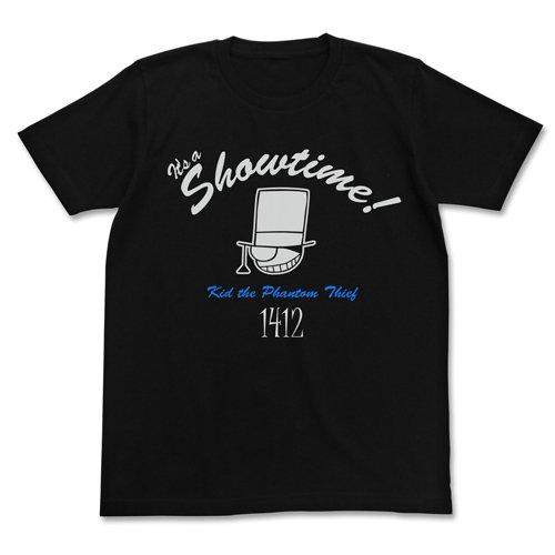 名探偵コナン 怪盗キッド アイコンマーク Tシャツ ブラック Mサイズ