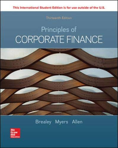 Download Principles of Corporate Finance 1260565556